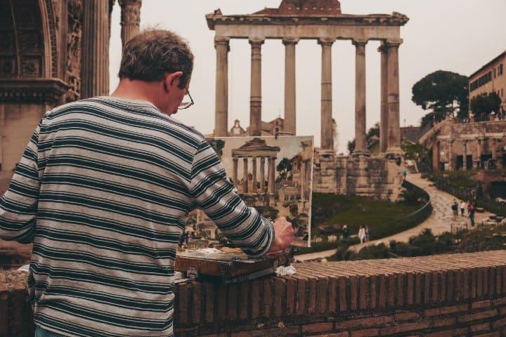 Roman Forum. Foto:. Cristina Gottardi