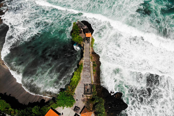 Tanah Lot. Indonesia. Foto. Ishan 3