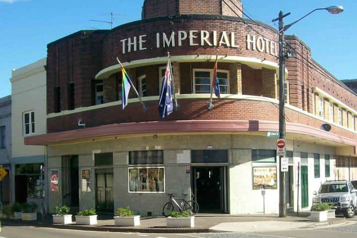 The happiest hour Imperial Erskineville hotel