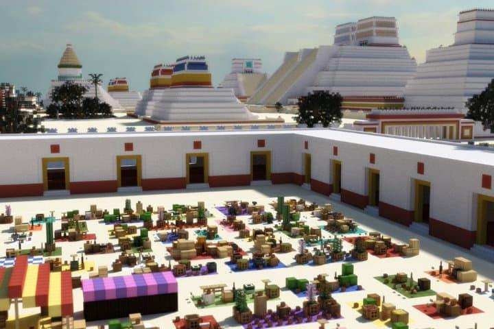 Tianquiztli o Mercado en el Templo Mayor, según arqueólogos Foto Tlahtoani_Coahuémoc