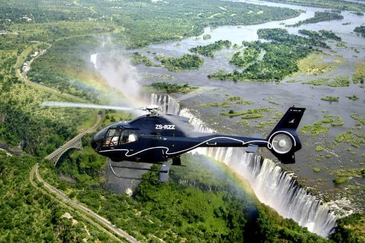 Recorrido por helicóptero. Foto Viajes Kuoni.