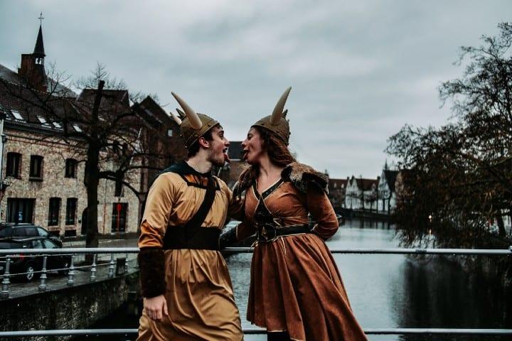 Vikingos. Foto: Xandro Vandewalle