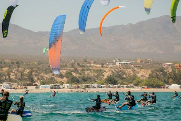 Windsurf en Isla La Ventana Foto Eitmedia