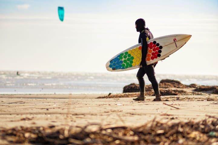 Kitesurf. Foto: Giovesoft