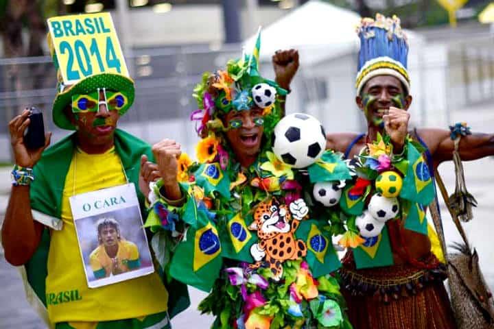 Afición. Playlist desde Rio de Janeiro. Brasil. Foto. RTVE.es. 1