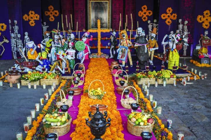 Altar de muertos. Mèxico. Foto Archivo 1