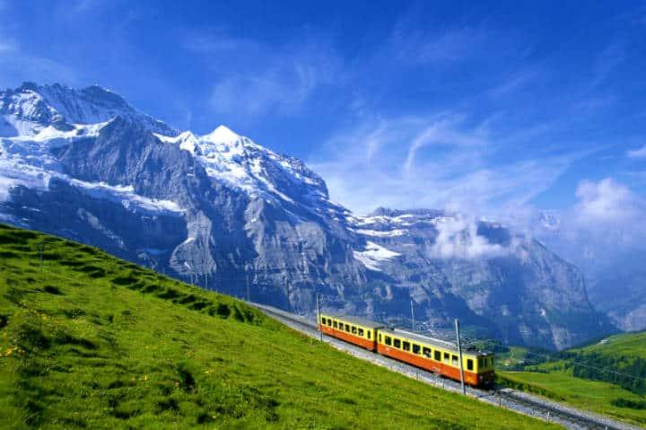 Ferrocarriles Suiza. Foto Archivo.