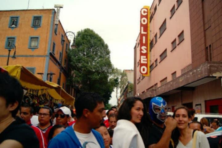 Arena Coliseo. Zona de Tepito. Foto Archivo 3