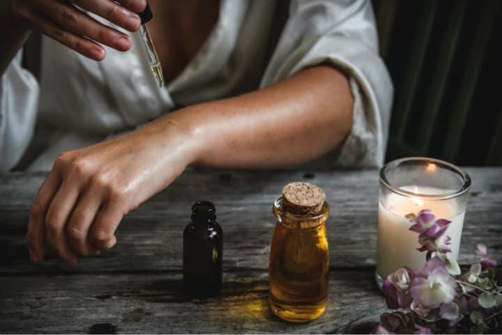 Aromaterapia. Foto Chelsea Shapouri 4