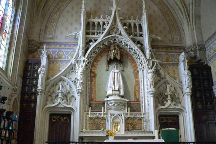 Basílica de Notre-Dame du Roncier. Francia. Foto Pinterest 6