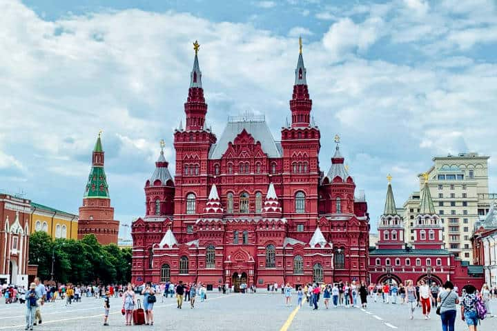 La plaza roja. Foto Bea Viajera.