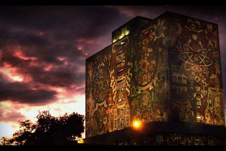 CU UNAM. Foto: Sore x