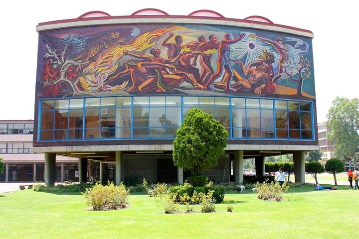 CU UNAM. Foto: Jake Alexa