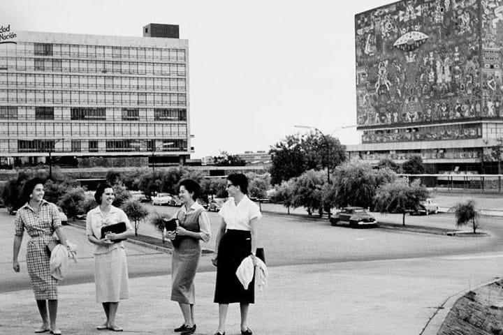 CU UNAM. Foto: Ricardo Monreal A.