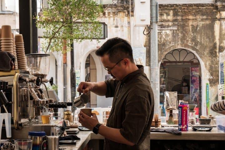 Cafetería. Foto: Andrew Teoh