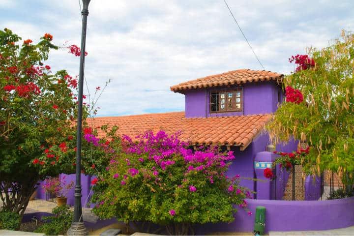 Casa al estilo mexicano. Todos Santos. Foto Archivo 4