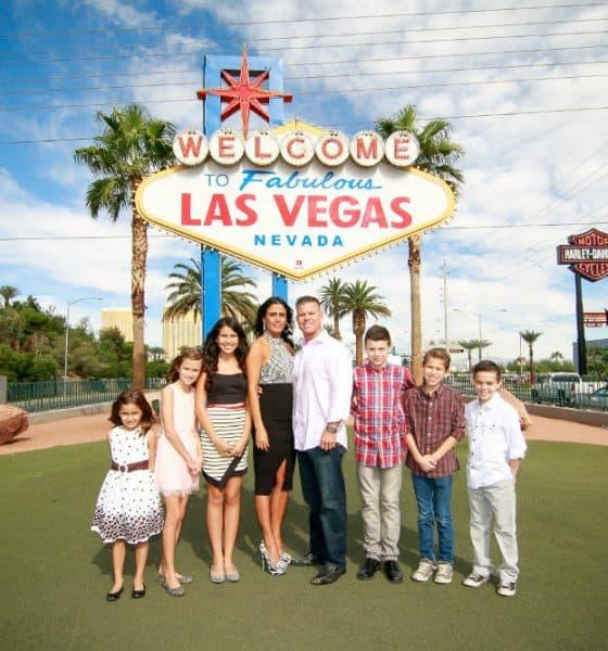Las Vegas para niños. Foto Christian Purdie Photography.