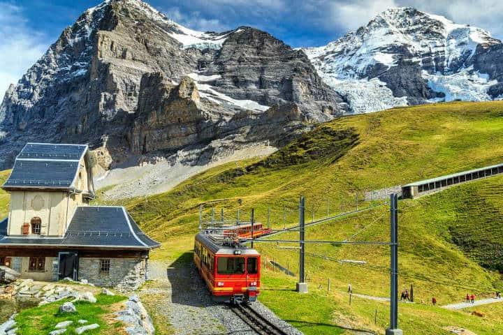 El techo de Europa, Jungfrau Suiza turismo. Foto Civitatis.