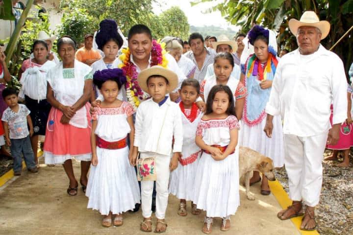 Comunidad Indígena en Cuetzalan. Foto Archivo 1