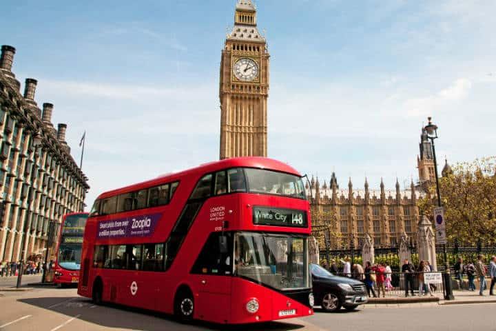 Conoce Londres desde el routemaster. Rutas. Imagen. How work 5