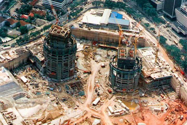 Construcción.Torres Petronas.Foto.Tecnología en la construcción.11