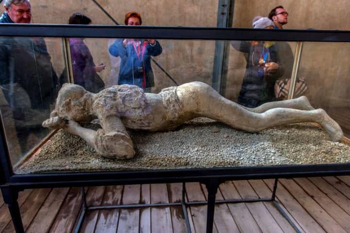 Cuerpo en Granero del Foro.Pompeya.Italia.Foto.Visitar Pompeya.7
