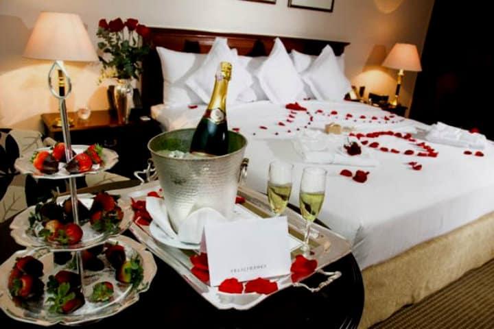 Decoración especial en habitación.Cómo planificar un viaje en pareja.Foto.Fanpage.11