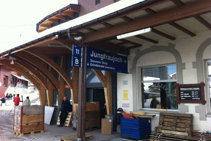Estación Jungfraubahn. Foto Desnivel.