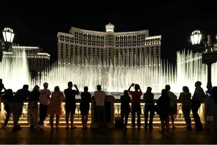 Hotel Bellagio. Foto El Tiempo Las Vegas.