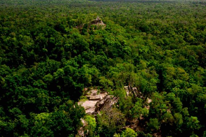Ichkabal, Mahahual en Quintana Roo. Foto El Viajero Fisgón.