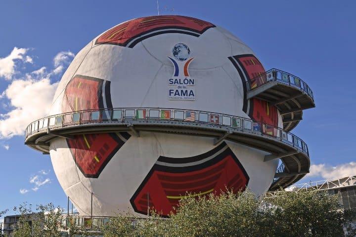 El salón de la fama del fútbol Foto madeleine mx