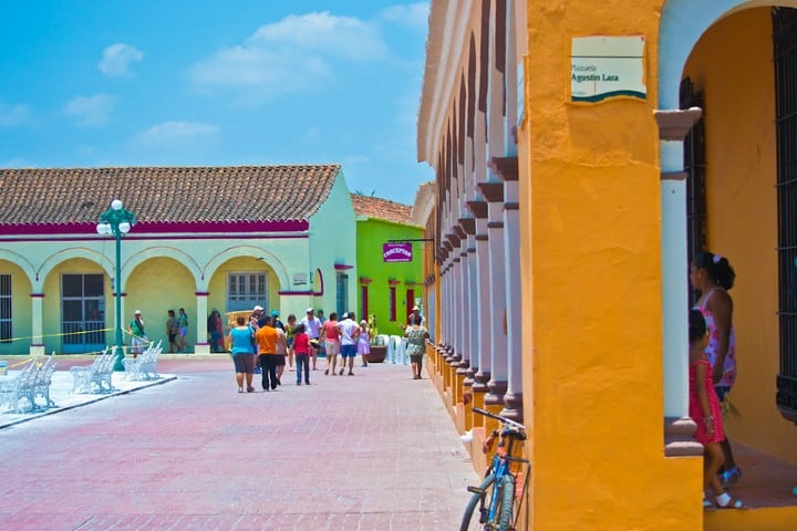 Esta plaza en Tlacoltalpan lleva el nombre de Agustin Lara. Foto
