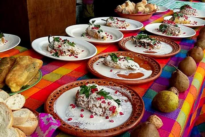 Exposición del platillo.Puebla.Foto.Sipse.2