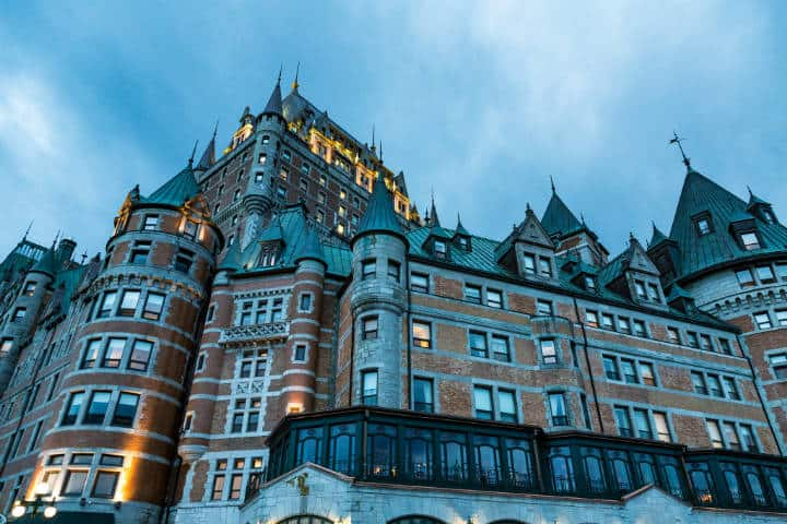 Fairmont Le Château Frontenac. Quebec. Foto Tony Webster 3