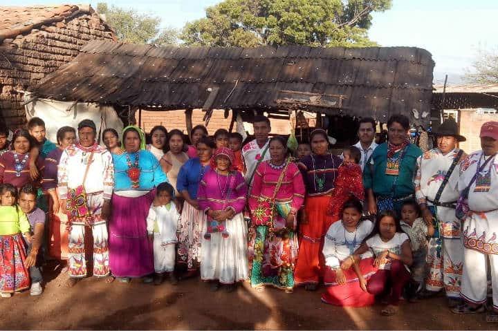 Comunidad Huichol. Foto Food and Travel.