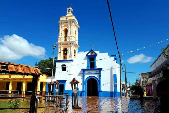 Iglesia.Isla Mexcaltitán.Nayarit.Foto.Más México.1