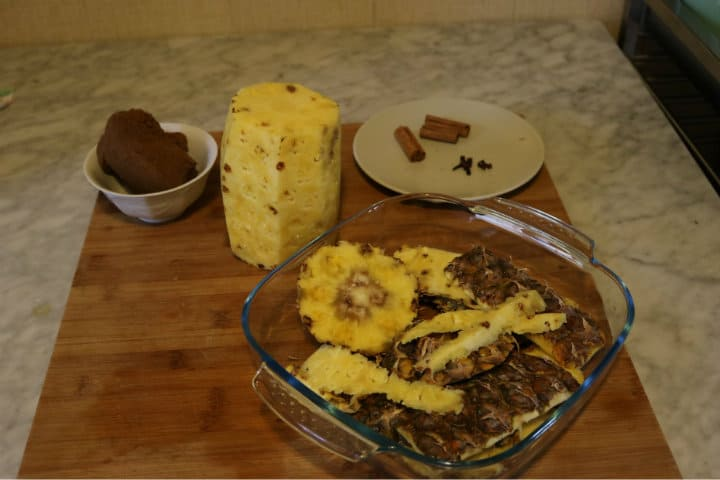 Ingredientes del Tepache, la receta original. Foto Erika Pancardo Solis 3