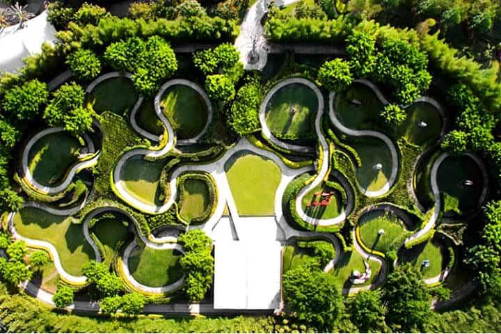 Jardines de México. Foto Inmuebles en México.