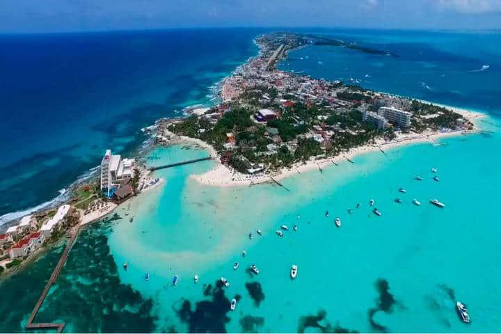 Isla mujeres punta sur. Cancun. Imagen: NTU