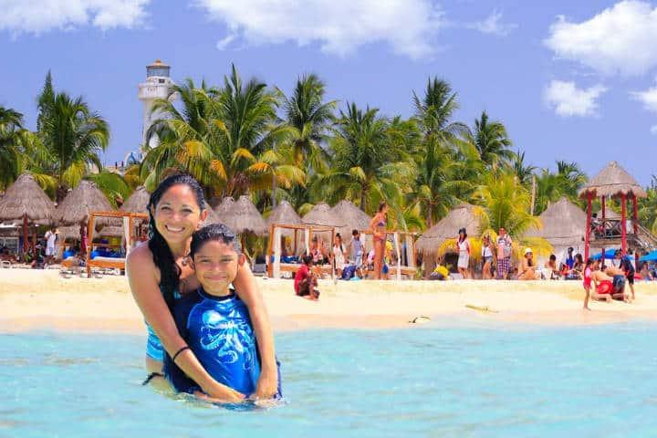 Isla mujeres punta sur. Cancún. Imagen: Yucatan