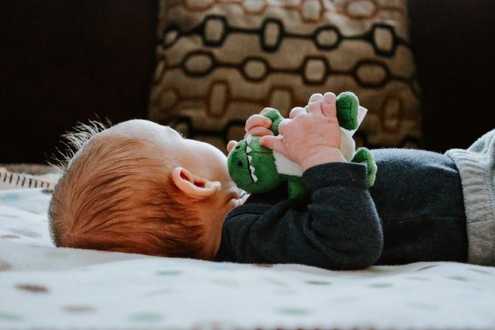Juguete de bebé. Foto: Kelly Sikkema