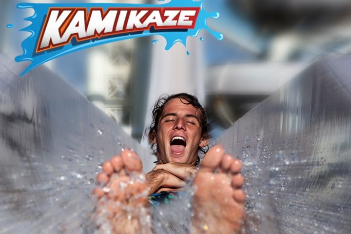Parque Acuático Wet'n Wild Kamikaze venturapark. Foto: Ventura Park