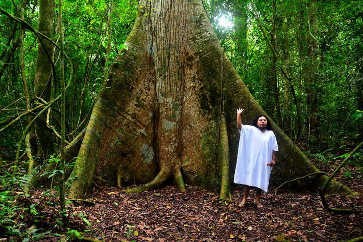 Lacandon. Habitante de la Selva Lacandona. Chiapas. Foto. Turismo Rural de Aventura, Chiapas. 5