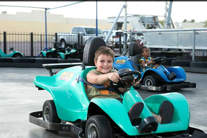 Las Vegas para niños. Foto Las Vegas Mini Gran Prix.
