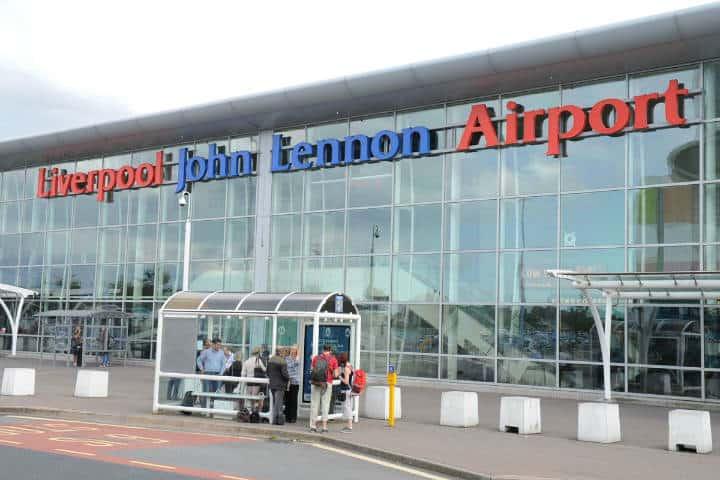 John Lennon Airport. Foto Liverpool Echo.