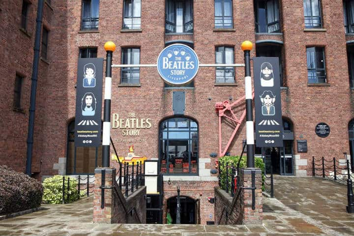 The Beatles Story. Foto Liverpool Mágico Tours.