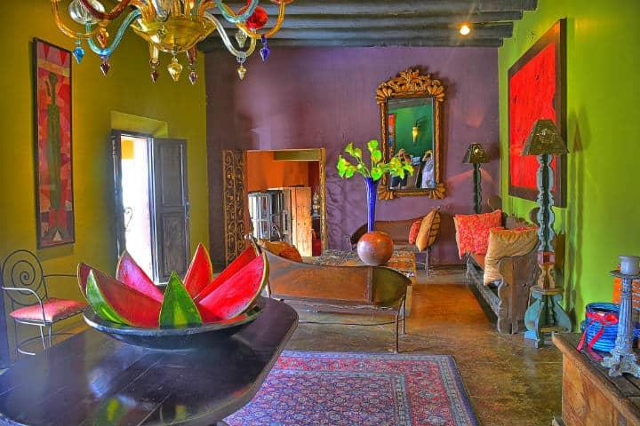 Lobby del Hotel California. Baja California Sur. Foto Kirt Edblom 7