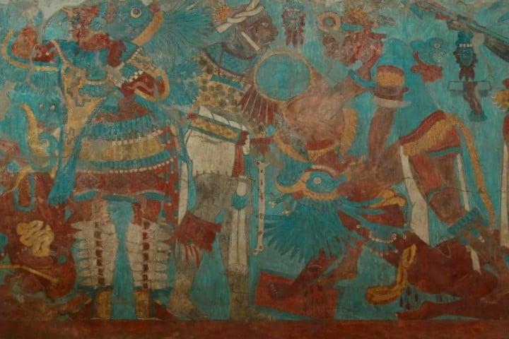 Los murales de Cacaxtla. Foto: informador.mx