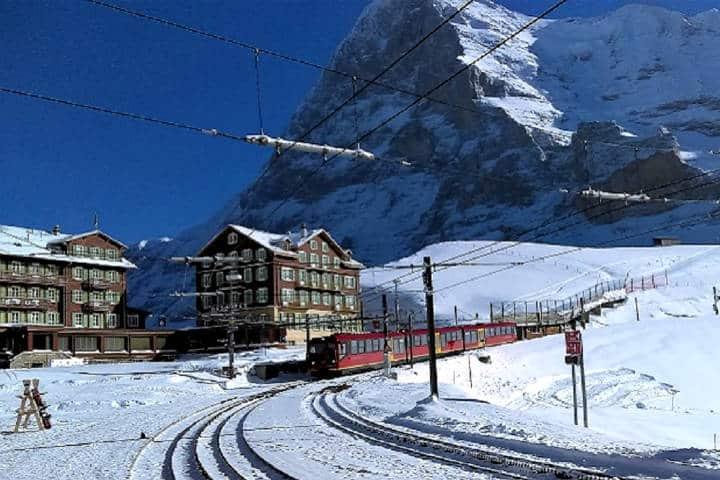 Kleine Scheidegg. Foto Lugares de Nieve.