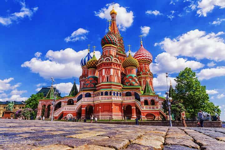 La catedral de San Basilio en Moscú. Foto Mi Viaje.